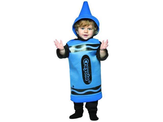 Green Crayola Crayon Child Costume 4-6X