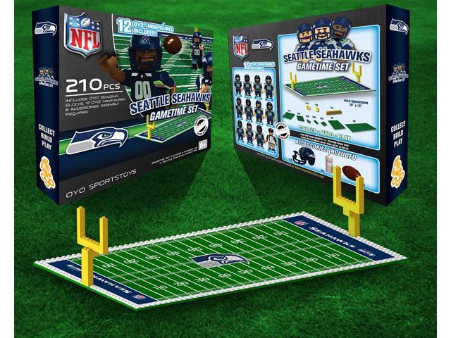 Seattle Seahawks NFL OYO Figure and Field Team Game Time Set