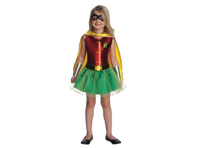 Batman Robin Tutu Dress Costume Child Small 4-6