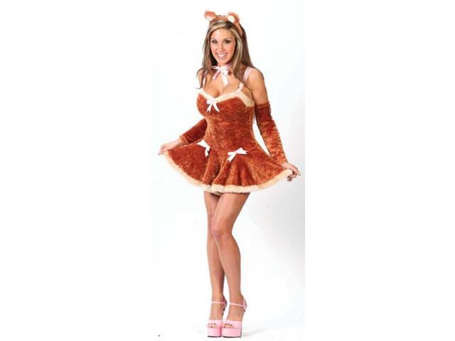 Touch Me Teddy Sexy Costume Adult Medium/Large
