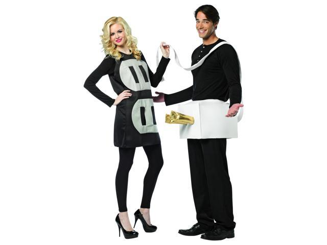 Plug & Socket Couples Costume Lightweight Adult One Size Fits Most