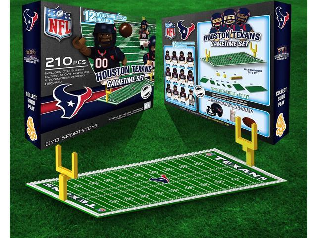 Houston Texans NFL OYO Figure and Field Team Game Time Set