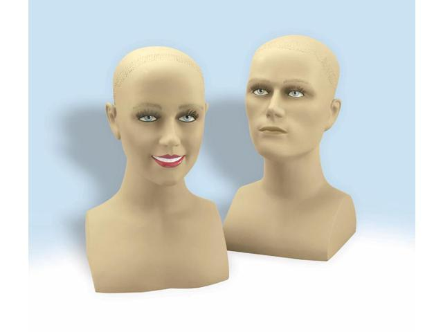 Female Head Bust Stand Costume Prop