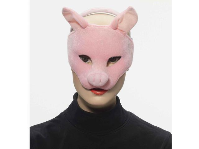 Deluxe Plush Animal Costume Mask - Pig