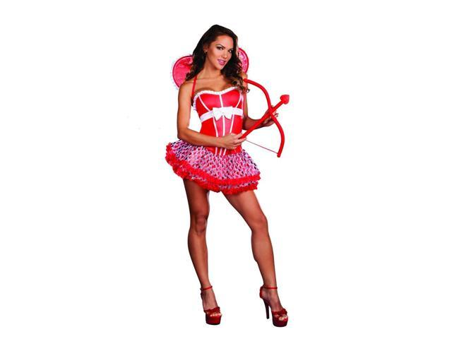 Sexy Pucker Up Baby Cupid Costume Adult Large
