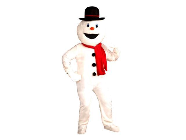 Snowman Deluxe Costume Mascot Adult Standard