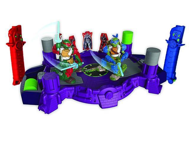 Teenage Mutant Ninja Turtles Battroborg Arena: Leonardo Vs Raphael