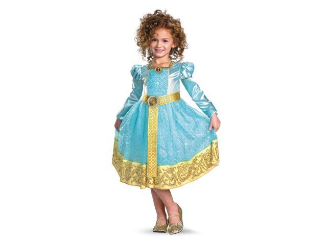 Disney Brave Movie Merida Deluxe Costume Dress Child Toddler X-Small 3-4T