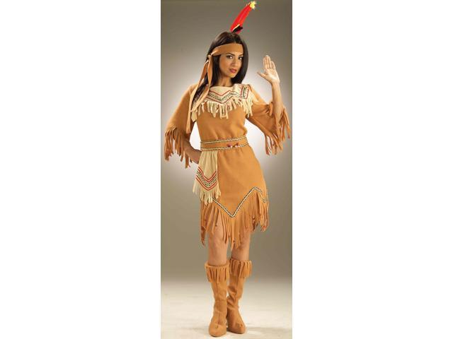 Native American Maiden Costume Adult One Size Fits Most