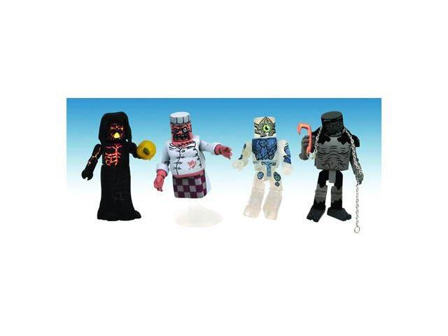 Ghostbusters Minimates Exclusive Ghost Set