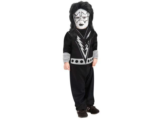 KISS Spaceman Costume Child Toddler 2T-4T