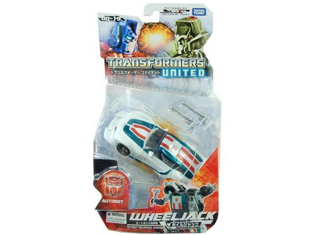 Transformers Un19 United Wheeljack Figure