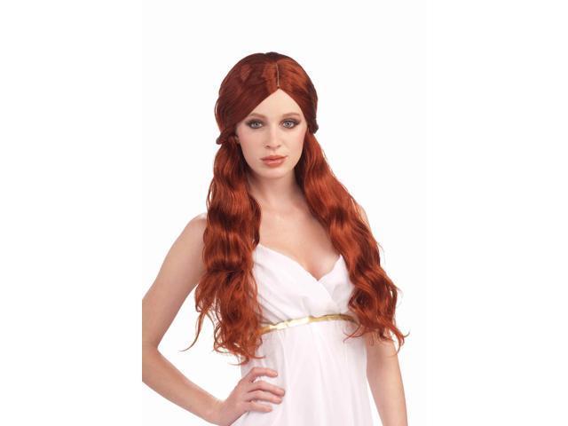 Auburn Venus Adult Costume Wig