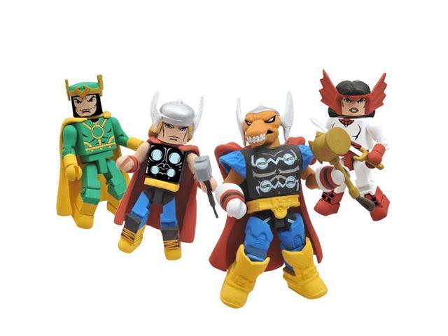 SDCC 2011 Exclusive Marvel Minimates Thor Stormbreaker Box Set