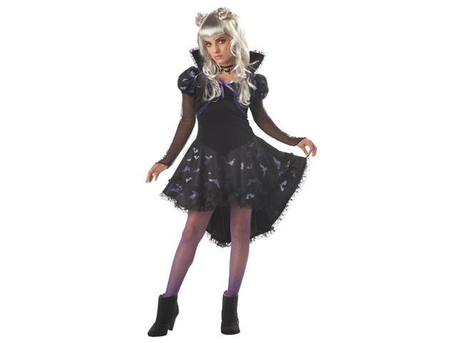 Nocturna Vampire Princess Girl Dress Costume Tween Large 10-12