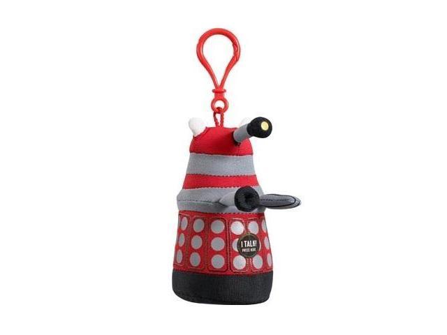 Doctor Who: Mini Talking Plush Clip On: Red Dalek