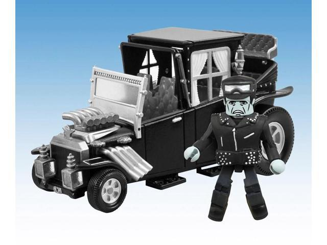 Minimates Munsters Koach With Hot Rod Herman