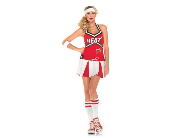 NBA Miami Heat Sexy Cheerleader Uniform Costume Adult