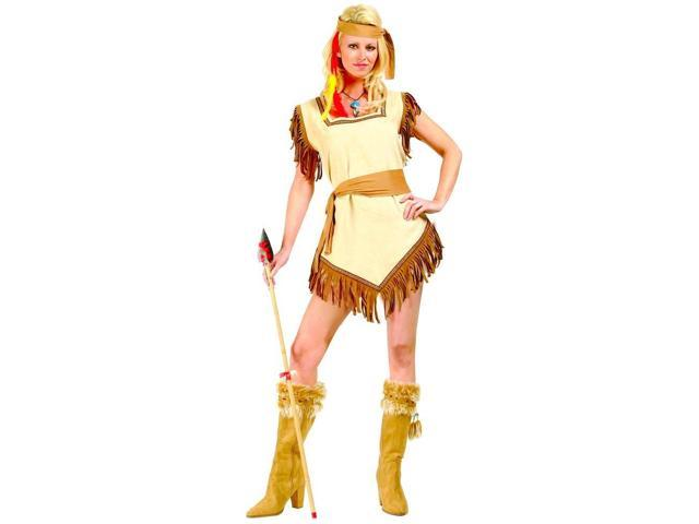 Naughty Galilahi Cherokee Indian Girl Costume Adult