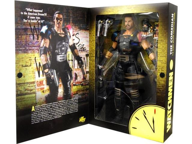 Watchmen Movie Comedian 1/6 Scale Collector Figure