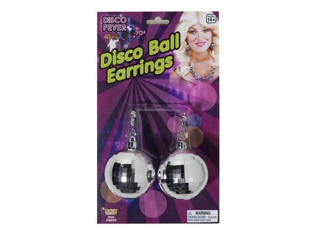 Disco Ball Costume Jewelry Earrings