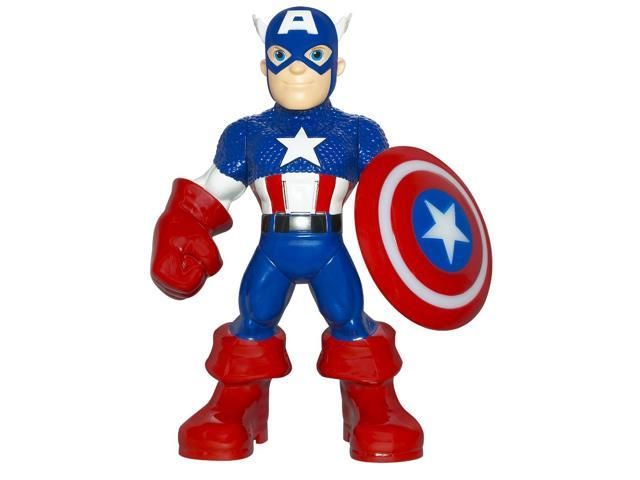 Marvel Captain America Figure W/ Glowing Shield & Hero Phrases