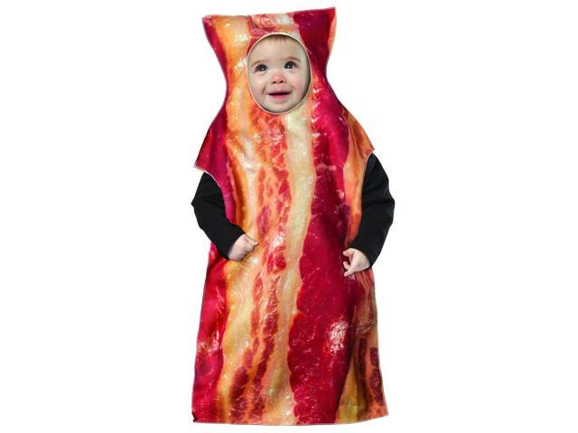 Bacon Baby Bunting Costume 3-9 Months