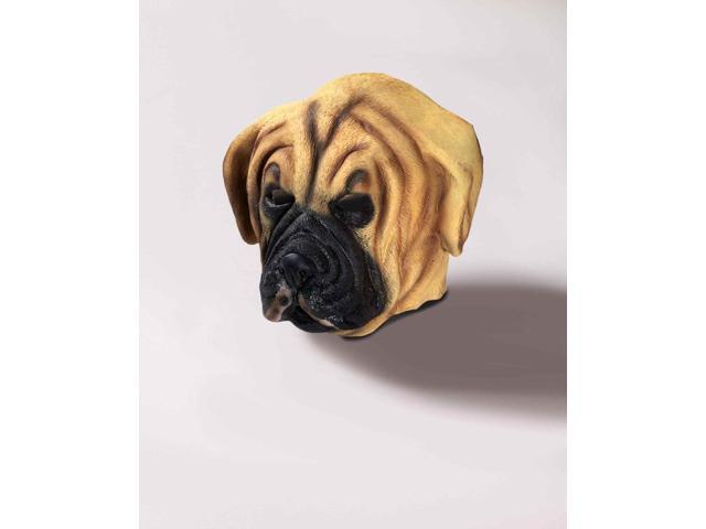 Adult Deluxe Latex Animal Costume Mask - Dog