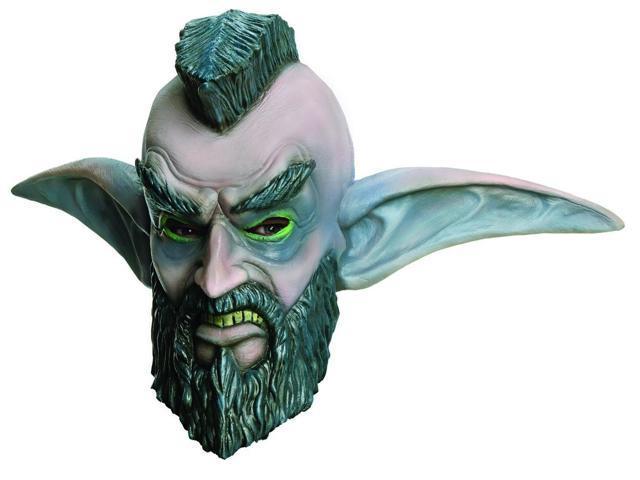 World Of Warcraft Mohawk Grenade Overhead Adult Costume Mask