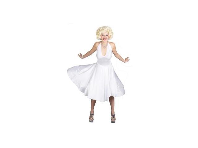Deluxe Classic Marilyn Monroe Costume Adult Small 6-8