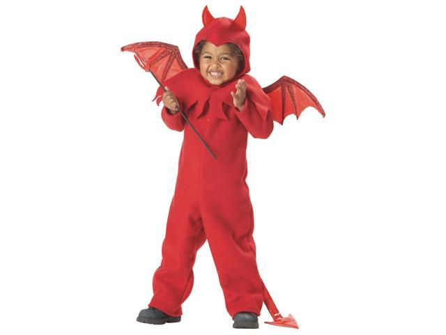 Lil' Spitfire Devil Costume Child Toddler Large 4-6