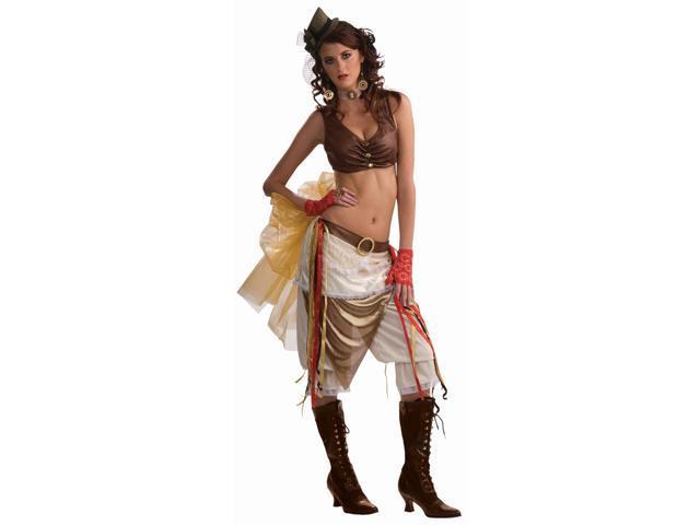 Steampunk Showgirl Costume Adult Standard