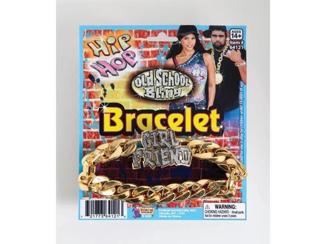 Hip Hop Rapper ID Bracelet Girlfriend Costume Jewelry Accessory