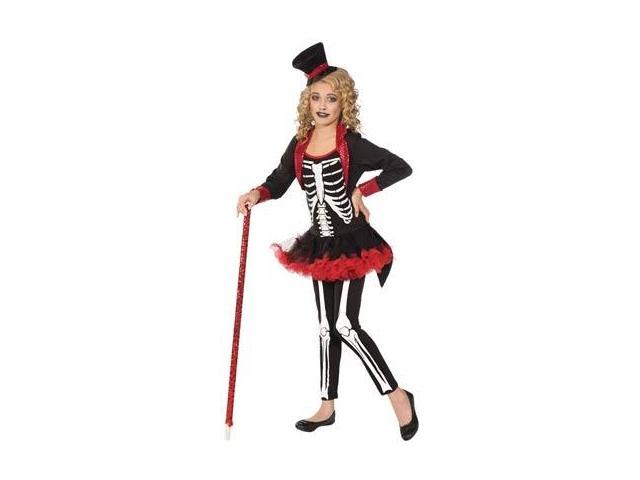 Miss Bone Jangles Skeleton Tutu Costume Child Small