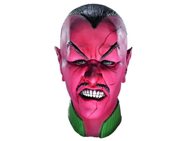 Green Lantern Deluxe Sinestro Overhead Latex Costume Mask Adult
