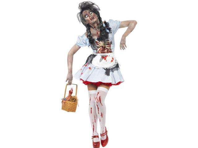 Horror Zombie Dorothy Adult Costume Small