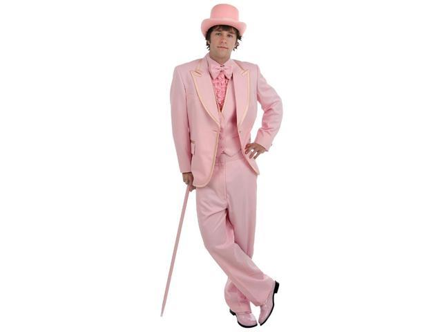 Men's Formal Pink Costume Tuxedo Adult Large
