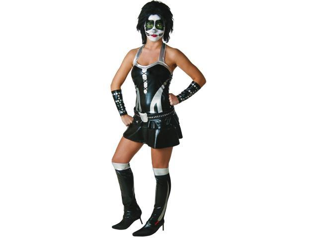 KISS Sexy Catman Adult Womens Costume Small