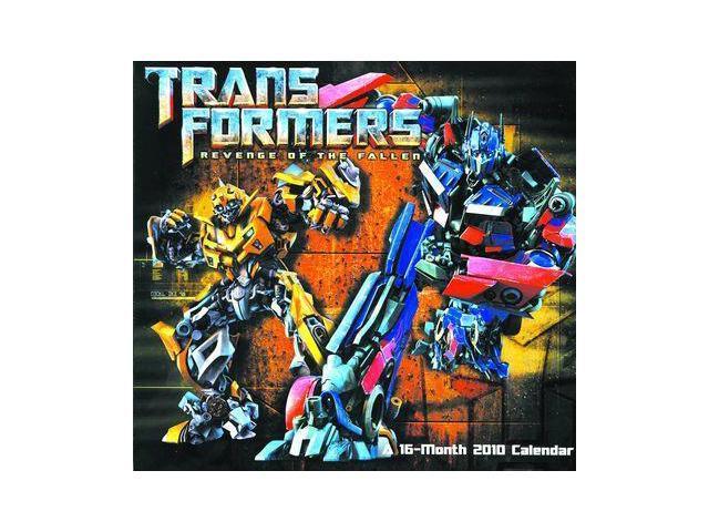 Transformers Revenge Of The Fallen 2010 Calendar