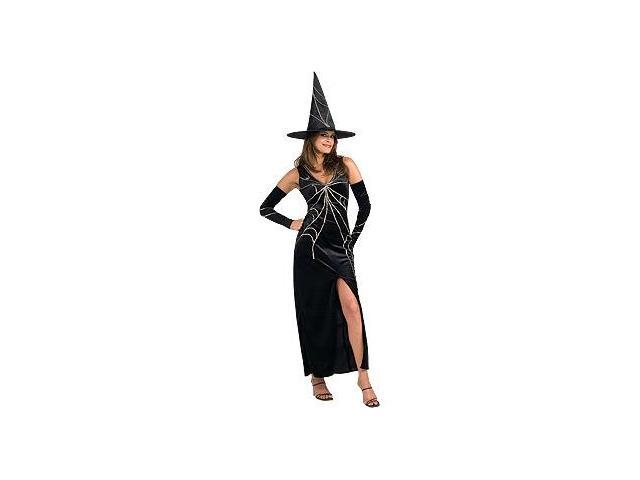 Webspinner Witch Black Costume Adult Standard