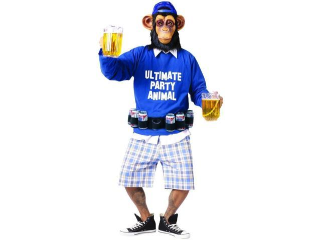 Ultimate Party Animal Adult Costume Standard