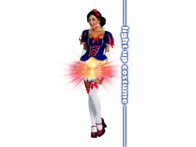 Sexy Snow Bright Light Up Costume Adult X-Large
