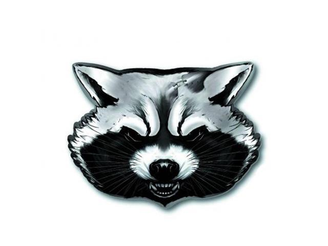 Marvel's Guardians of the Galaxy Pewter Pin: Rocket Racoon (Head)