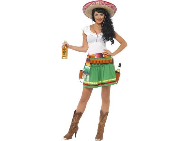 Mexican Tequila Shooter Girl Costume Adult X-Small