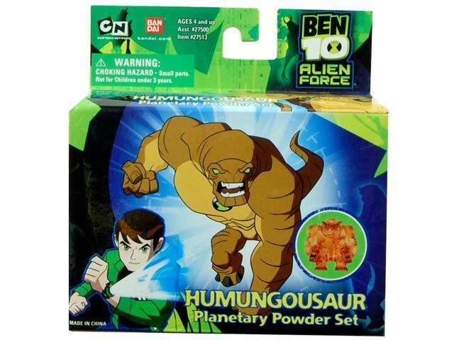 Ben 10 Alien Force Figure Humungousaur Planetary Powder