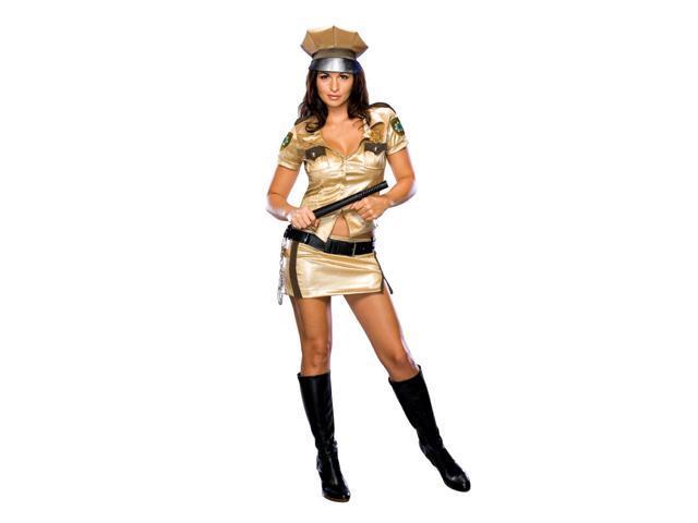 Reno 911 Sexy Female Deputy Adult Costume Small