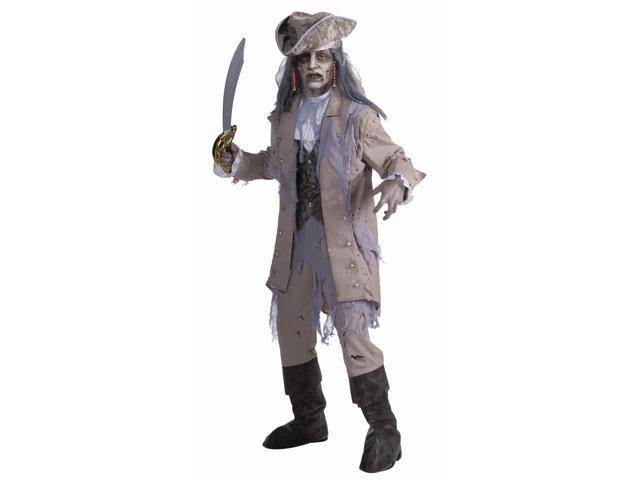 Zombie Pirate Costume Adult Standard
