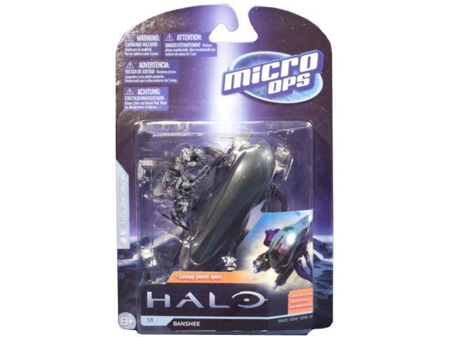 McFarlane Halo Micro Ops Series 1 Banshee With 2 Elites