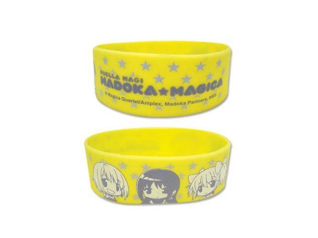 Madoka Magica SD Character PVC Wristband