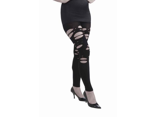 Zombie Torn Leggings Costume Hosiery Accessory
